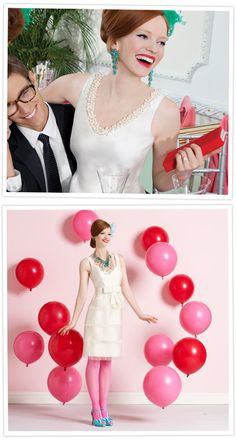 Kate Spade Wedding. I think if there was ever a time I could reconcile buying one of these gorgeous dresses, now is it!