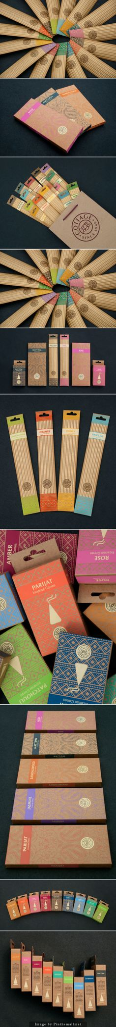 Cottage Incense: Heritage Range