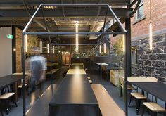 Captain Melville – Melbourne Restaurant and Bar by Breathe Architecture
