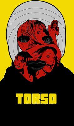 Torso Horror movie poster