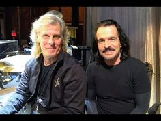 Yanni taking some time with his drummer Charlie Adams who is originally from Joliet, IL and showing us some of his techniques. Be sure to get tickets to Yanni's concert, you don't want to miss Charlie's 5 to 10 minute drum solo! www.Yanni.com/Tour