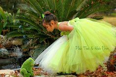 Princess Tiana Dress Princess and the frog by GlitterMeBaby