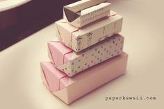 Origami Gift Box Tutorial Video