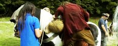 The Hobbit: An Unexpected Journey behind the scenes (Click for movement)<< LOL THIS IS AWESOME! xD