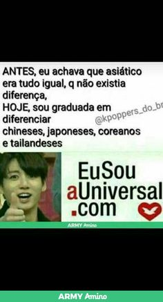 Chineses, japoneses, coreanos, tailandeses, filipinos, americanos (Mark)...entre outros