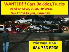 """Cash paid for cars, bakkies trucks """"alive or dead - Greytown - free classifieds in South Africa Damaged Cars, Instant Cash, Car Buyer, Free Ads, Cars For Sale, South Africa, Cape, Trucks, The Unit"""