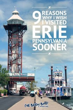 9 Reasons Why I Wish I Visited Erie Pennsylvania Sooner Us Travel Destinations, Canada Travel, Travel Usa, Beach Travel, Travel With Kids, Family Travel, Presque Isle State Park, Erie Pennsylvania, Harrisburg Pennsylvania