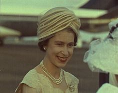 The Queen's Hats - British Pathé