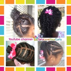 Styles using African Threading Protective Hairstyles For Natural Hair, Natural Hairstyles For Kids, Little Girl Hairstyles, Natural Hair Styles, African American Girl Hairstyles, African Hairstyles, Afro Hairstyles, Black Hairstyles, African Threading