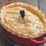 Chicken Pie with Ardennes pate