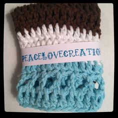 Cotton Crocheted Washcloth by peacelovecreations on Etsy, $4.00