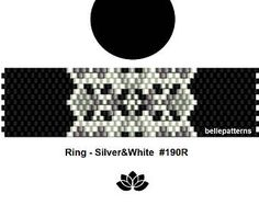 peyote ring patternPDF-Download 132R beading pattern