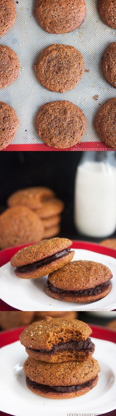 Molasses Fudge Cookies! Gluten-free, dairy-free, paleo