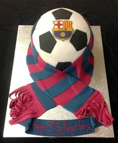 Barcelona Birthday Cake ideas