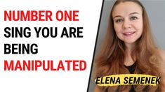 Number one sing you are being manipulated. Manipulator's secrets and man...