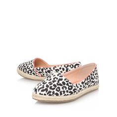 dahlia animal print flat slip on shoes from Miss KG