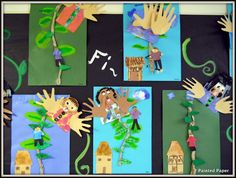 PAINTED PAPER: Fe Fi Fo Fum! Jack and the Beanstalk