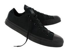 Converse Mens CHUCK TAYLOR ALL STAR LO canvas sneakers