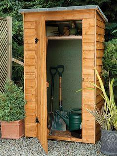 gardeners tool shed gardens