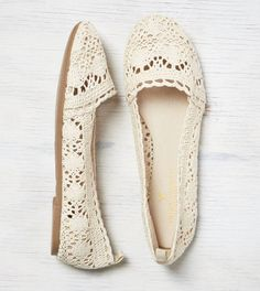 AEO Crocheted Ballet Flat