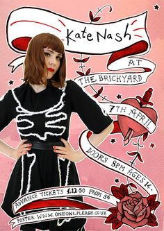 kate nash music  posters