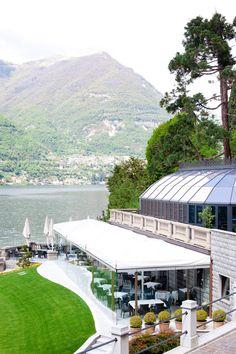 CastaDiva Resort in Lake Como - http://ruffledblog.com/honeymoon-guide-lake-como