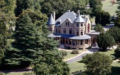 The Dooley Mansion at Maymont photographed from the air. View the full gallery!