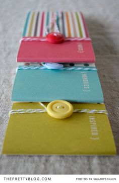 Download these easy and fun handmade notebooks, where you can jot down those inspirational moments and memories.