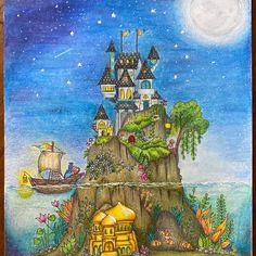 Johanna Basford Books, Johanna Basford Coloring Book, Free Coloring, Adult Coloring, Coloring Books, Colouring, Joanna Basford, Nature Drawing, Color Pencil Art
