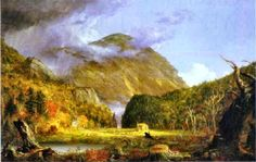 Thomas Cole: The Notch of the White Mountains. 1839. Oil on canvas.
