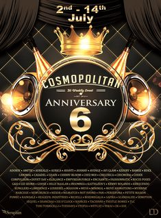 IT'S COSMOPOLITAN 6th ANNIVERSARY ROUND! COME CELEBRATE WITH US! \o/ You have two weeks to come on in, browse around and snap them all up before the round changes again on July 15th! Find all info @ http://cosmopolitansl.blogspot.com/2018/07/cosmopolitan-6th-anniversary-round-17.html Or just come @ http://maps.secondlife.com/secondlife/No%20Comment/131/61/22  Enjoy !