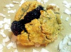 Blackberry Scones with Coconut Flour  Contributed by: Caroline Casey from Out of Liney    This recipe was not tested by Bob's Red Mill. Gluten Free, High Fiber, Lactose Free, Soy Free.