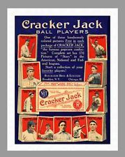 Buy me some peanuts and Cracker Jacks. During 1914 and 1915, mini-sized baseball cards were put in Cracker Jack boxes. Now they are collector items. http://coolbaseballmemorabilia.com/1915-cracker-jack-baseball-cards-for-sale/