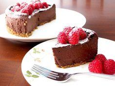 How To Make Gluten-Free, Soy-Free, Vegan Chocolate Cheesecake Cheesecake Recipe