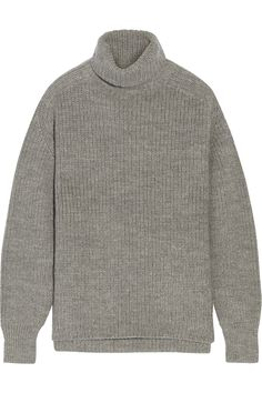Étoile Isabel Marant Laney Ribbed Turtleneck Sweater, $500; net-a-porter.com   - ELLE.com