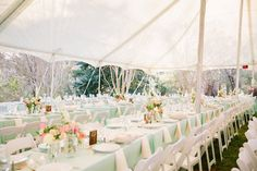 aqua wedding receptions - photo by Emily March Photography http://ruffledblog.com/tuckahoe-plantation-wedding