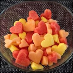 Fun Valentine's Day food your kids will love: Heart fruit salad from Celebrate the Big & Small