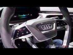 Video shows Audi's e-tron quattro's OLED displays #OLEDDesign