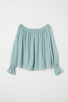 Top | Dusky green | WOMEN | H&M US