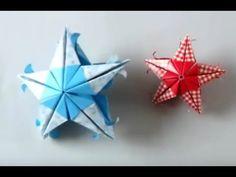 Hướng dẫn chi tiết gấp giấy Ngôi Sao Hạnh Phúc Origami - YouTube