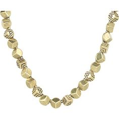 60% Off Now $62.00 #HouseofHarlow 1960 - Engraved Rocky Collar #Necklace (14K Yellow Gold) - #Jewelry http://www.freeprintableshoppingcoupons.com