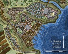 Profantasy fantasy city tiles for Campaign Cartographer by Jonathan Roberts