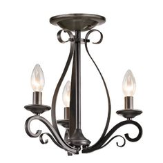 Kichler Lighting 43461SMG Kambry 3LT Convertible Fixture, Smokey Gray Finish Kichler Lighting http://www.amazon.com/dp/B00HHF7ER8/ref=cm_sw_r_pi_dp_z9wnub0KD1E26