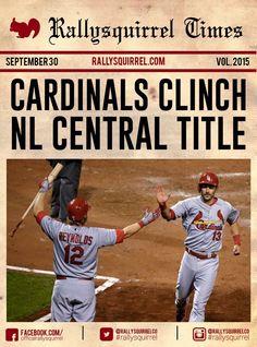 Cardinals clinch!!