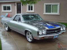 1970 70 Chevy El Camino SS Pro Touring resto mod beautifully done well over 60K
