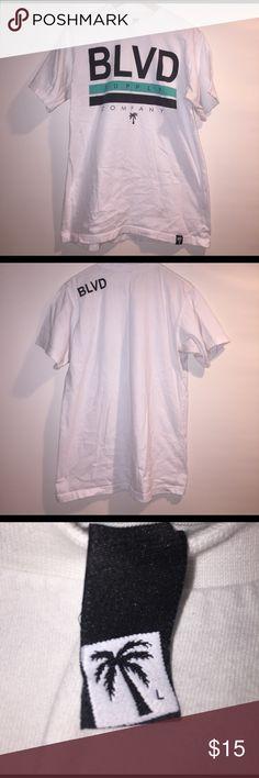 Blvd supply company Tshirt Great gently worn, blvd supply company Tshirt size Large boulevard supply company Shirts Tees - Short Sleeve