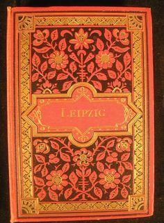 Leipzig Saxony Germany ca. 1900 Tourist photo album w/ 20 views