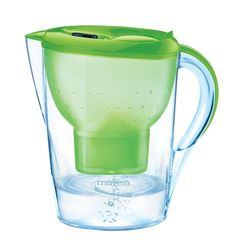 Marella XL 8-Cup Water Filtration Pitcher, Green Mavea