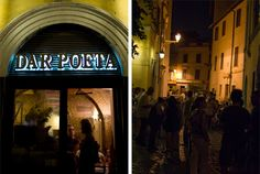 Rome Italy - Dar Poeta - This restaurant is in my top 5 best pizza list.