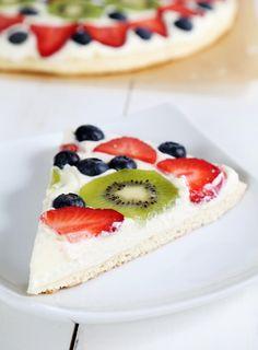 Gluten Free Fruit Pizza